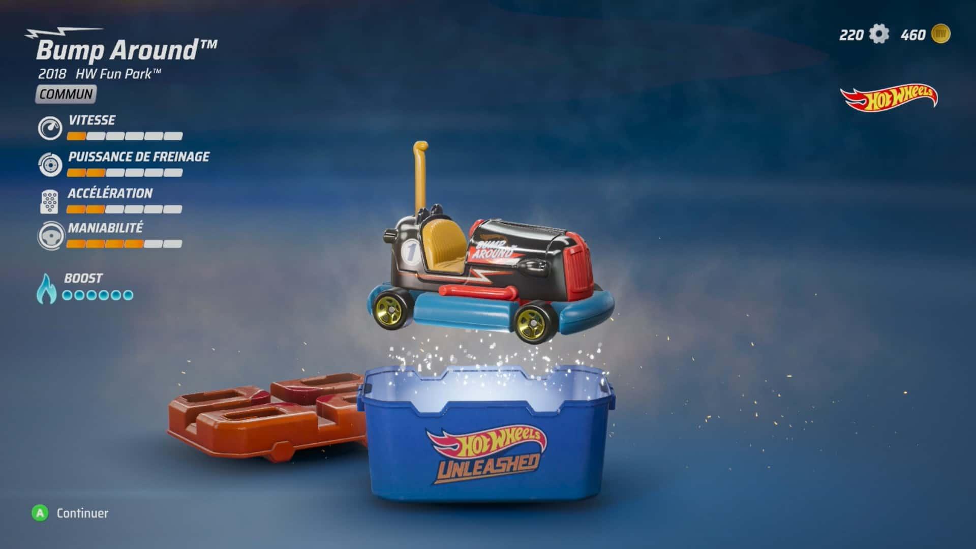 Hotwheels Unleashed screenshot boite surprise