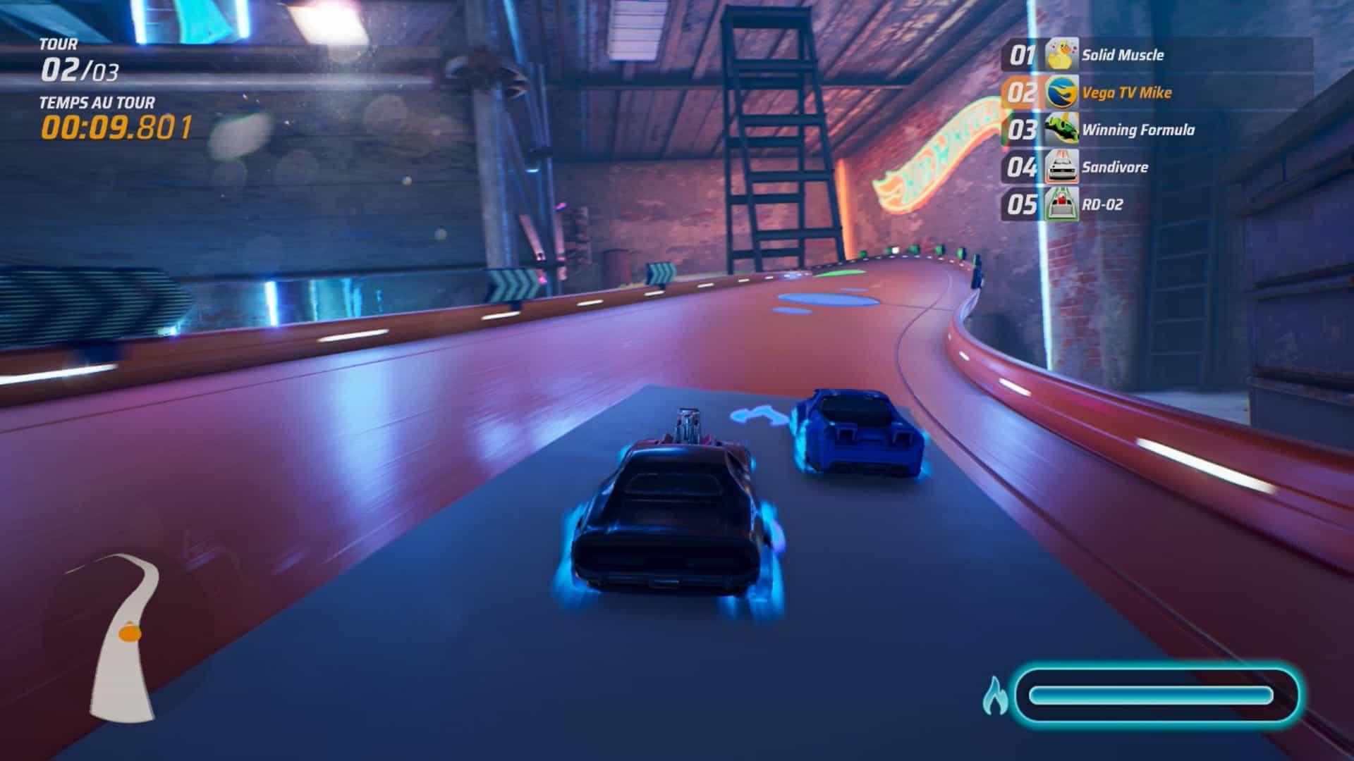 Hotwheels Unleashed screenshot neon