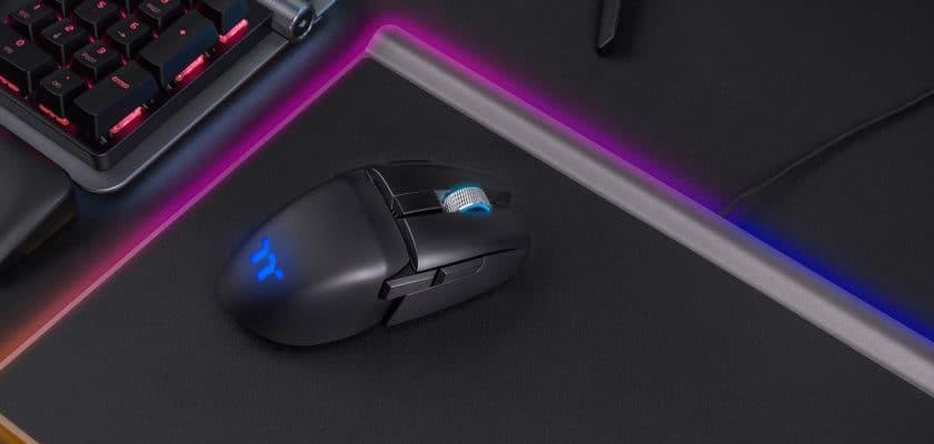 Le visuel officiel de la souris Thermaltake Argent M5 Wireless