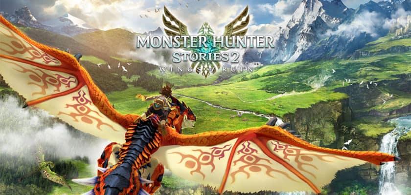 Le visuel officiel de Monster Hunter Stories 2