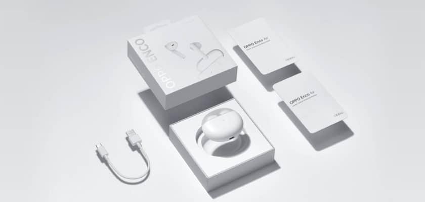 Le visuel officiel des Oppo Enco Air