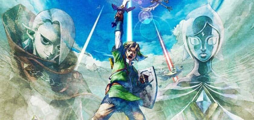 Le visuel officiel de Skyward Sword HD