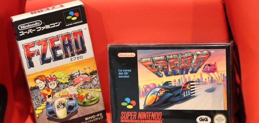 F-Zero sur Super Nintendo