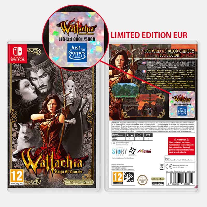 La boîte de Wallachia Reign of Dracula